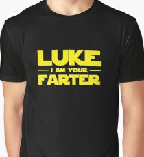 Luke, I Am Your Farter Graphic T-Shirt
