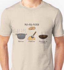 PO-TA-TOES Unisex T-Shirt