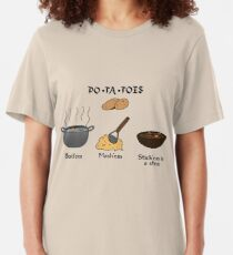 PO-TA-TOES Slim Fit T-Shirt