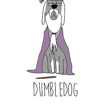 dumbledog by laurathedrawer