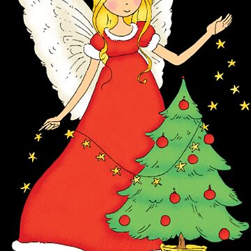 Pretty Christmas angel by NovaPaint