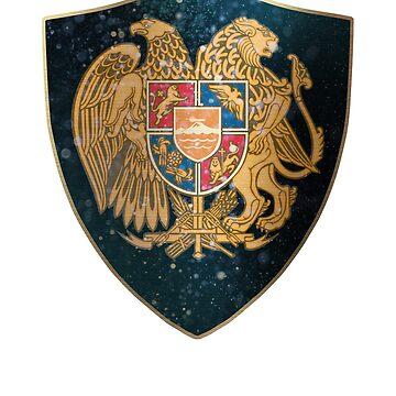 Armenia Coat of Arms  by ockshirts