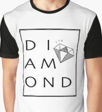 Minimalist Diamond Graphic T-Shirt