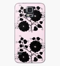 pink black vine, tony fernandes Case/Skin for Samsung Galaxy