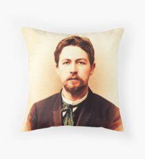 Anton Chekhov, Literary Legend Throw Pillow