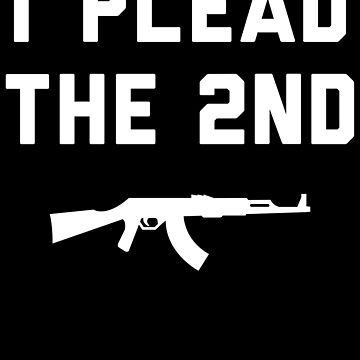 I Plead The 2nd Gun Control by with-care