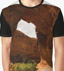The Back Side Of Pine Tree Arch - 1 © Graphic T-Shirt