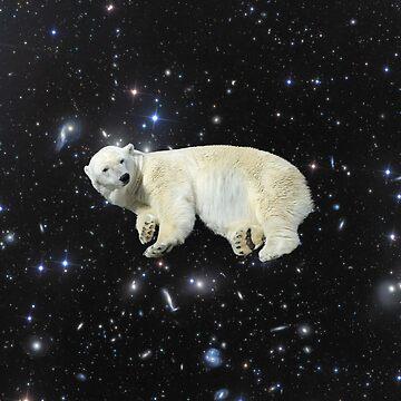 Space Polar Bear by JStuartArt