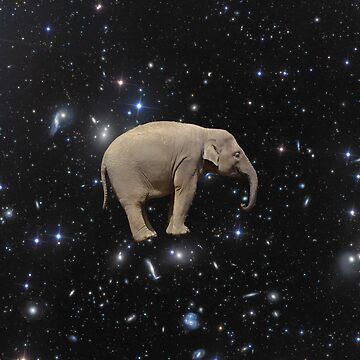 Space Elephant by JStuartArt