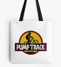 Pump Track Tote Bag