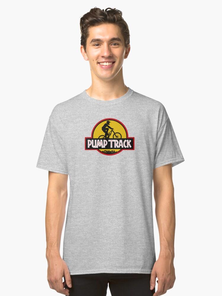 Pump Track Classic T-Shirt Front
