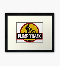 Pump Track Framed Print