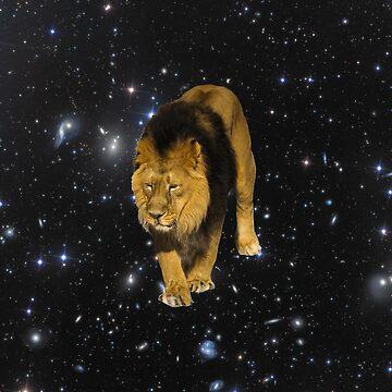 Space Lion by JStuartArt