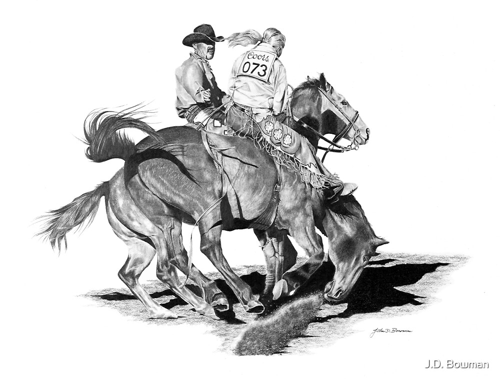 Rodeo Dismount by J.D. Bowman