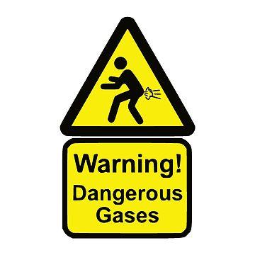 Funny Warning Sign by realmatdesign