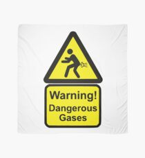Pañuelo Señal de advertencia divertida