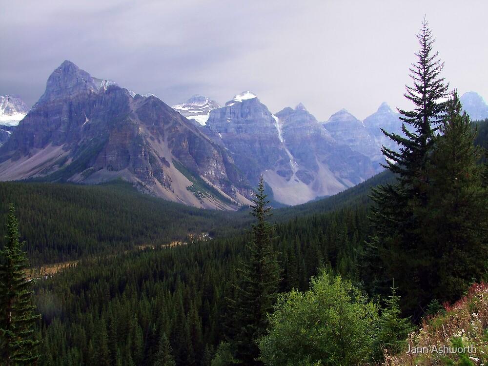 Valley of the Ten Peaks by Jann Ashworth