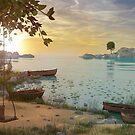 Fantasy Beach by Marc  Mons