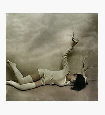 .even in death. Photographic Print