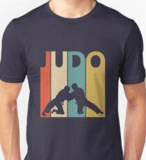 Vintage Retro Judo Slim Fit T-Shirt