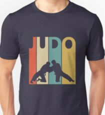 Vintage Retro Judo Unisex T-Shirt