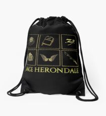 Minimalistic • Jace Herondale •  Drawstring Bag