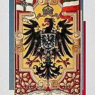 Kaiserzeit...German Flags and Eagle by edsimoneit