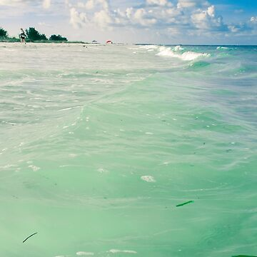 Caribbean Blue Sea by oliviastclaire