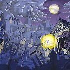 Midnight in the Graveyard  by grosvenordesign