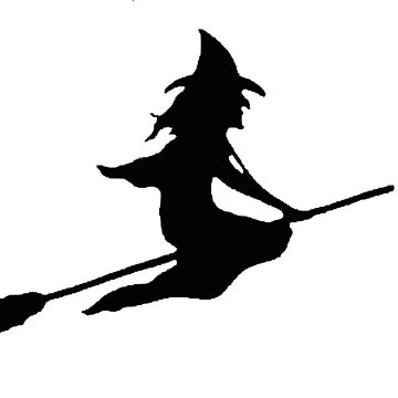 Halloween Witch Silhouette by MartinV96