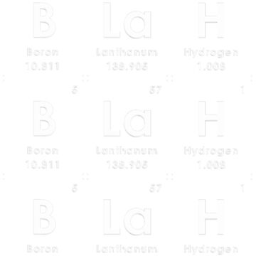 BLaH BLaH BLaH 1 white by Elementsforfun