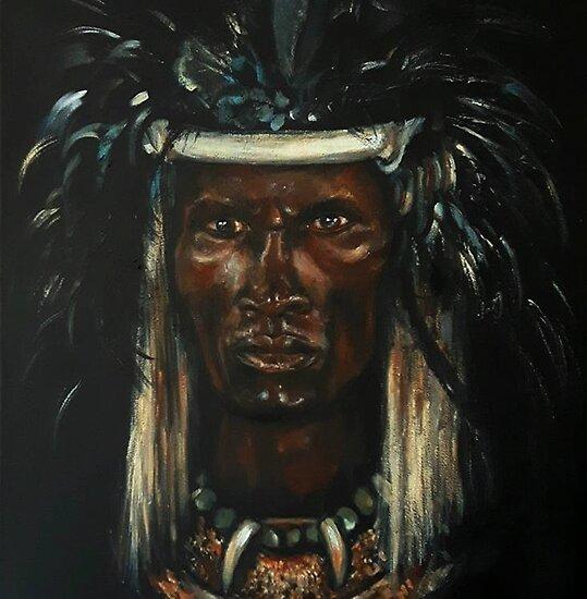 """""""Shaka Zulu"""" Posters By BlackMeridians"""