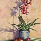 Orchids and Plums by JolanteHesse