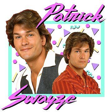 80s Patrick Swayze by ellentwd
