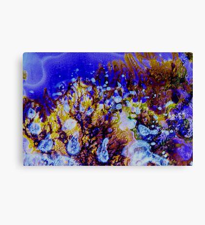 Coral Carnival Canvas Print