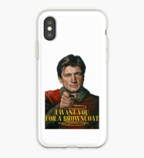 I Want You for a browncoat iPhone Case