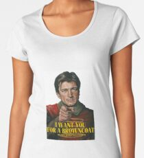 I Want You for a browncoat Women's Premium T-Shirt