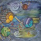 Steampunk Nebula  by TeraFujan