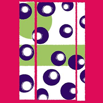 Abstract design with pink purple and green. by JohnyZero
