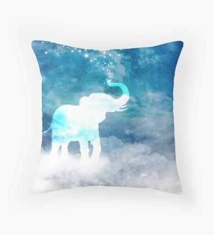 Magical Elephant Spouting Stars Floor Pillow