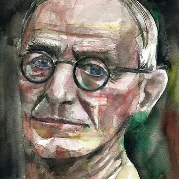 HERMANN HESSE - watercolor portrait.6 by lautir