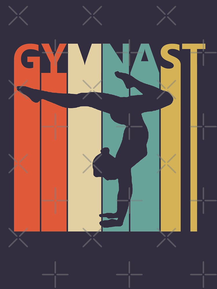 Vintage Retro Gymnast by polveri