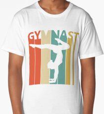 Vintage Retro Gymnast Long T-Shirt