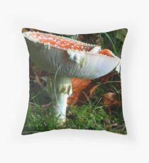 Under the Cap Throw Pillow