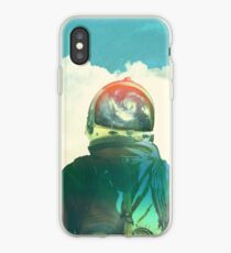 God is an astronaut iPhone Case