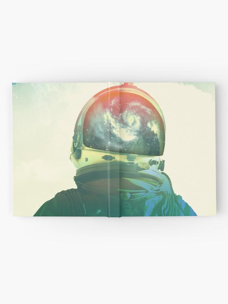 Alternative Ansicht von Gott ist ein Astronaut Notizbuch