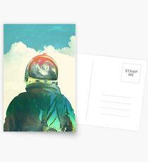 Gott ist ein Astronaut Postkarten