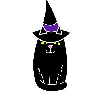 Black Cat Witch by Boogiemonst