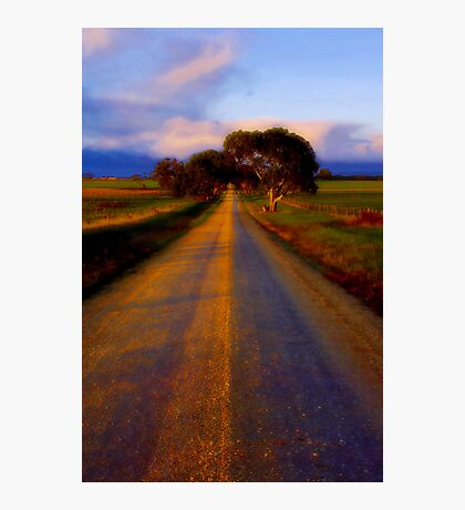 """Road to Buckley"" Photographic Print"