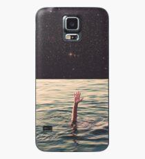 Im Weltraum ertrunken Hülle & Klebefolie für Samsung Galaxy